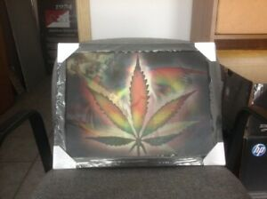 Mary Jane Leaf Framed 3-D Hologram Picture