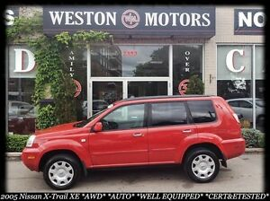 2005 Nissan X-Trail XE*AWD*AUTO*CERT&ETESTED*BUY HERE PAY HERE