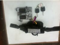VAUXHALL VECTRA 2.2CC 2005 INDICATOR/WIPER/SWITCHES2KEYS/+ECU SEE PART NUMBERS