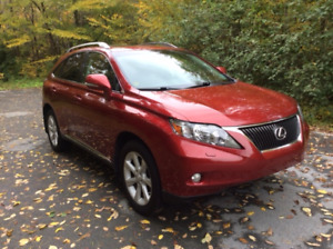 2012 Lexus RX350, low mileage/like-new