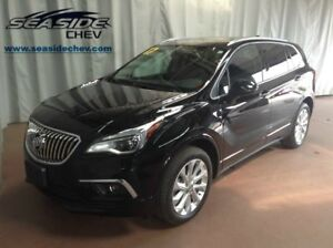 2017 Buick Envision Premium I Leather/Sunroof/NAV AWD Low kms!