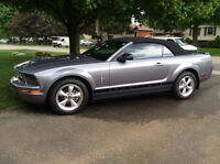 2007 Mustang Convertible, V6, 5 speed, Mint, 24,000 km