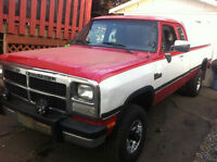 Trade my '93 Cummins 4X4 for your Harley