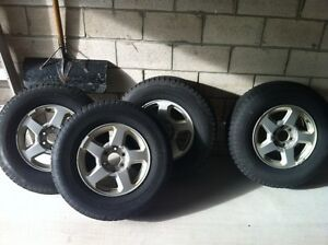 Like New Snow Tires - $700