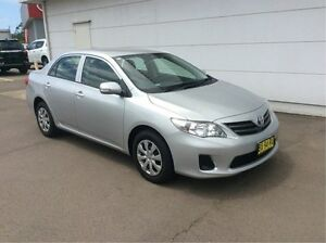2013 Toyota Corolla ZRE172R Ascent S-CVT Silver 7 Speed Constant Variable Sedan Cardiff Lake Macquarie Area Preview