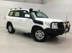 2008 Toyota Landcruiser VDJ200R GXL White 6 Speed Sports Automatic Wagon Edgewater Joondalup Area Preview