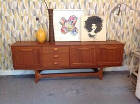 Gorgeous Staterooms Teak Sideboard by Stonehill of Great Britain circa 1960-1970