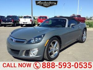 2008 Saturn Sky TURBO CONVERTIBLE Leather,