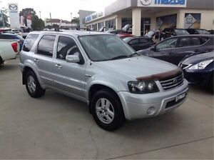 2006 Ford Escape ZC Limited Silver 4 Speed Automatic Wagon East Maitland Maitland Area Preview