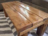 Reclaimed Wood (Hemlock) Barn Board Coffee Table