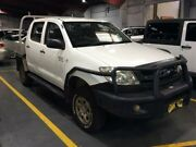 2009 Toyota Hilux GGN25R 08 Upgrade SR (4x4) White 5 Speed Manual Dual Cab Pick-up Cardiff Lake Macquarie Area Preview
