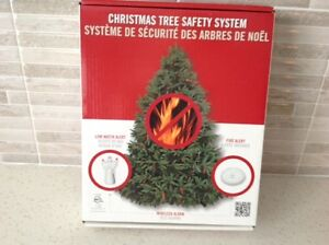A CHRISTMAS TREE SAFETY SYSTEM~WATER ALERT~FIRE ALERT~BRAND NEW!