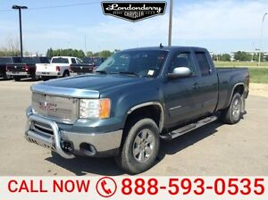 2010 GMC Sierra 1500 4WD EXTCAB SLT Accident Free,  Navigation (