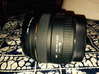 Sigma 30mm f/1.4 EX DC HSM Lens Canon Mount, Hoya Filter inc.