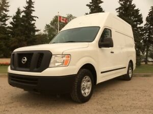 2012 Nissan NV2500, HIGH ROOF CARGO VAN, AUTO, LOADED!