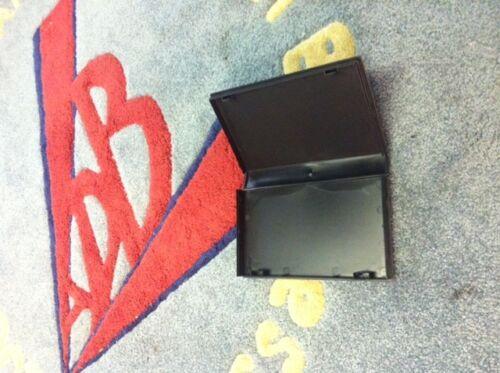 20 New Black VHS Case Video Library Case w/Full Sleeve, No Hub, PSV10