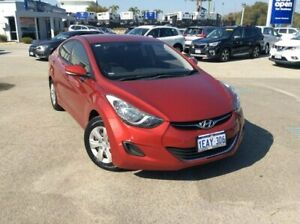 2012 Hyundai Elantra MD Active Red 6 Speed Sports Automatic Sedan Greenfields Mandurah Area Preview