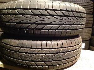 2 pneus d'été  185/65 r15 Yokohama avid h4s.    85$
