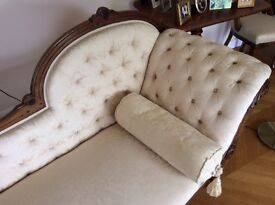 Chaise Longue - Late Victorian/early Edwardian.