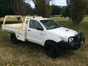 2014 Toyota Hilux SR (4x4) Single Cab Yass Yass Valley Preview
