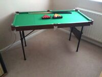 Childs Snooker/Pool Table