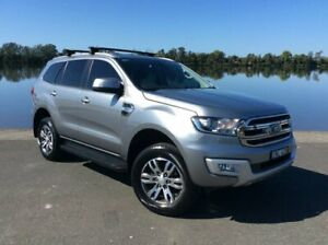 2018 Ford Everest UA MY18 Trend (4WD) (5 Yr) Aluminium 6 Speed Automatic Wagon Taree Greater Taree Area Preview