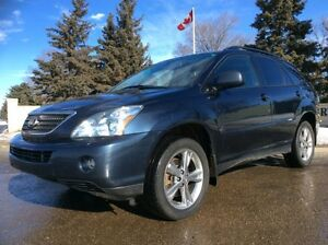 2007 Lexus RX400h, Hybrid, AWD, NAVI, LEATHER, ROOF, $11,500