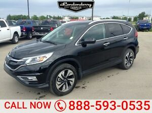 2015 Honda Cr-V AWD TOURING Navigation (GPS),  Leather,  Heated
