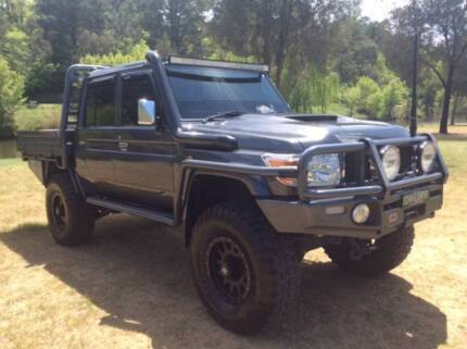 Toyota LandCruiser Dual Cab Chassis GXL Yass Yass Valley Preview