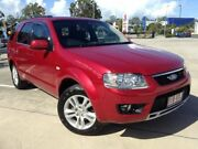 2010 Ford Territory SY Mkii TS (RWD) Red 4 Speed Auto Seq Sportshift Wagon Morayfield Caboolture Area Preview