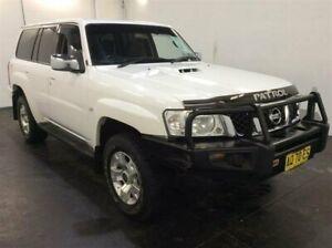 2007 Nissan Patrol GU IV ST (4x4) White 4 Speed Automatic Wagon Cardiff Lake Macquarie Area Preview