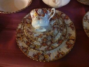 Discontinued Royal Albert China - Lenora pattern - now reduced