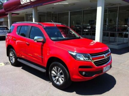 2017 Holden Trailblazer RG MY17 LTZ Red 6 Speed Sports Automatic Wagon