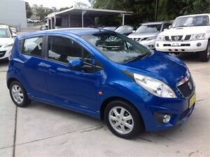 2010 Holden Barina Spark MJ MY11 CD Blue 5 Speed Manual Hatchback East Maitland Maitland Area Preview