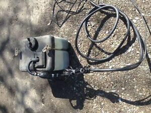 For free. Oil unit for boat engine.