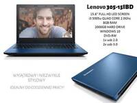 LENOVO 305-15iBD LAPTOP i3 5th gen 8GB 2TB BLUE SELL OR SWAP
