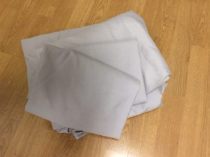 Light Grey King Size Sheets with Pillowcases