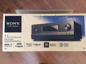 Sony Receiver STR-DH520(4 HDMI IN, 1 OUT)