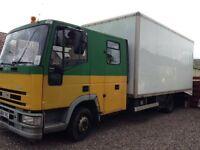 Iveco Eurocargo 75e 14 Crew Cab Box Transporter