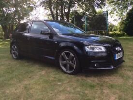 Audi A3 2.0 TDI Black Edition 2011 34,581 miles