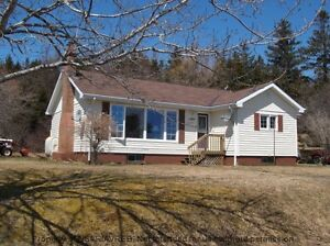 A 2 bed, 1 bath home with a  great country setting.
