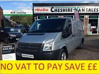 12 REG TRANSIT 2.2 280 MWB LOW ROOF TWIN SIDE DOORS FSH 200 VANS OPEN 7 DAYS