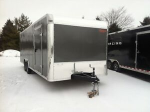 102 x 24 Enclosed Car Hauler 2016
