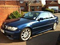2006 (55) BMW 330 Cd M Sport - 6 Speed Manual - 12 Months MOT - Immacualte