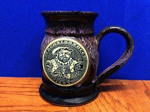 Minnesota Renaissance Festival Pottery Goblet, Mug ~ 1993 ~ Artist Peter Deneen