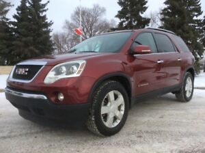 2008 GMC Acadia, SLT-PKG, AUTO, AWD, LEATHER, $10,500