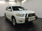2008 Toyota Kluger GSU40R KX-S (FWD) White 5 Speed Automatic Wagon Cardiff Lake Macquarie Area Preview