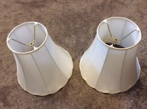 Two classic lampshades. Excellent condition.