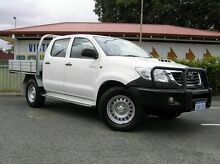2013 Toyota Hilux 150 SR White 4 Speed Automatic Dual Cab Gosnells Gosnells Area Preview