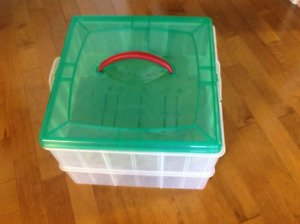NEW Christmas storage container